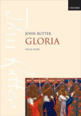 Gloria, für gemischten Chor, Blechbläser, Schlagzeug u. Orgel, Chorpartitur, John Rutter