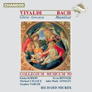 Gloria/ostro Picta/magnificat, R. Hickox, Cm90