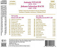 Gloria Rv 589/Magnif.Bwv 243 - Produktdetailbild 1