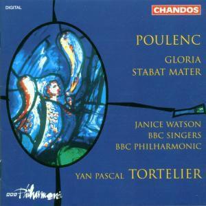 Gloria/stabat Mater, Tortelier, Bbcp, Bbc Singers