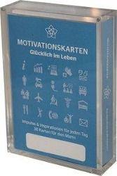 Glücklich im Leben - Motivationskartenset für Männer als positive Impulsgeber zur Selbstfindung und Inspiration, Marlis Homolac, Gerd Bruckner