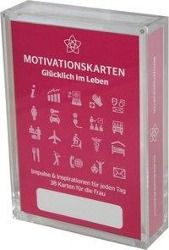 Glücklich im Leben - Motivationskartenset für Frauen als positive Impulsgeber zur Selbstfindung und Inspiration, Marlis Homolac, Gerd Bruckner