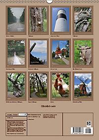 Glücklich sein (Wandkalender immerwährend DIN A3 hoch) - Produktdetailbild 13