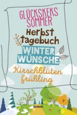 Glückskekssommer /  Herbsttagebuch / Winterwünsche / Kirschblütenfrühling, Kerstin Hohlfeld