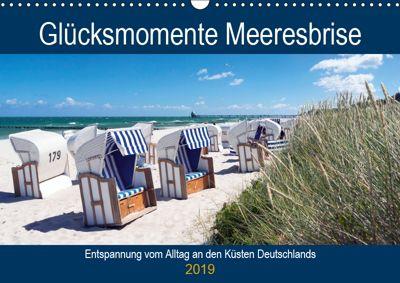 Glücksmomente Meeresbrise (Wandkalender 2019 DIN A3 quer), Andrea Dreegmeyer