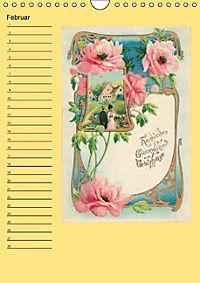 Glückwünsche von anno dazumal (Wandkalender immerwährend DIN A4 hoch) - Produktdetailbild 2