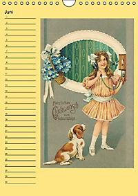 Glückwünsche von anno dazumal (Wandkalender immerwährend DIN A4 hoch) - Produktdetailbild 6