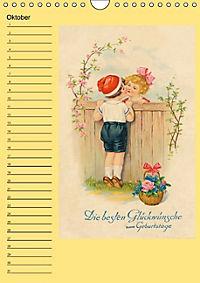 Glückwünsche von anno dazumal (Wandkalender immerwährend DIN A4 hoch) - Produktdetailbild 10