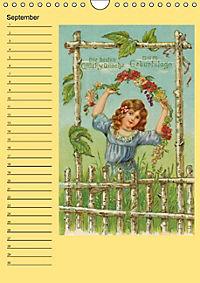 Glückwünsche von anno dazumal (Wandkalender immerwährend DIN A4 hoch) - Produktdetailbild 9