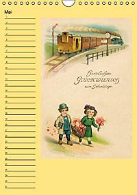 Glückwünsche von anno dazumal (Wandkalender immerwährend DIN A4 hoch) - Produktdetailbild 5