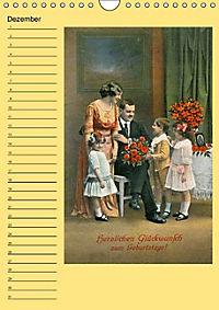 Glückwünsche von anno dazumal (Wandkalender immerwährend DIN A4 hoch) - Produktdetailbild 12