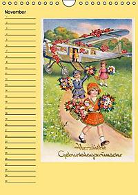 Glückwünsche von anno dazumal (Wandkalender immerwährend DIN A4 hoch) - Produktdetailbild 11