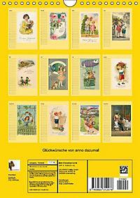 Glückwünsche von anno dazumal (Wandkalender immerwährend DIN A4 hoch) - Produktdetailbild 13