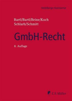 GmbH-Recht, Kommentar