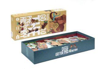 Go to the Prehistory (Kinderpuzzle)
