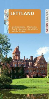 Go Vista Info Guide Reiseführer Lettland, m. 1 Karte, Pia Thauwald