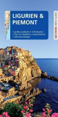 Go Vista Info Guide Reiseführer Ligurien und Piemont, m. 1 Karte - Robin Sommer |