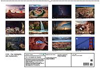 Go West. USA - Die Highlights des Südwesten (Wandkalender 2019 DIN A2 quer) - Produktdetailbild 13