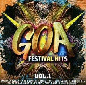 Goa Festival Hits Vol.1, Diverse Interpreten