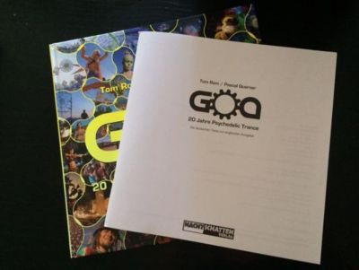 Goa, with booklet with german texts, Tom Rom, Pascal Querner