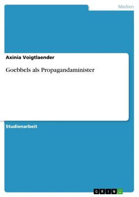 Goebbels als Propagandaminister, Axinia Voigtlaender