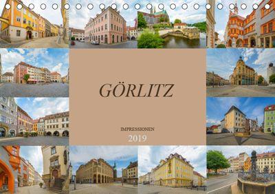 Görlitz Impressionen (Tischkalender 2019 DIN A5 quer), Dirk Meutzner