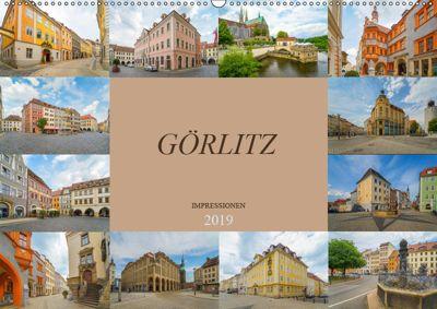 Görlitz Impressionen (Wandkalender 2019 DIN A2 quer), Dirk Meutzner