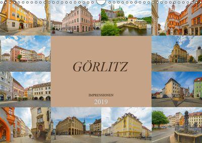 Görlitz Impressionen (Wandkalender 2019 DIN A3 quer), Dirk Meutzner