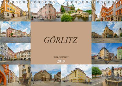 Görlitz Impressionen (Wandkalender 2019 DIN A4 quer), Dirk Meutzner