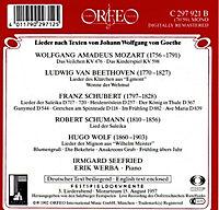 Goethe-Lieder: Das Veilchen/Lied Der Suleika/+ - Produktdetailbild 1