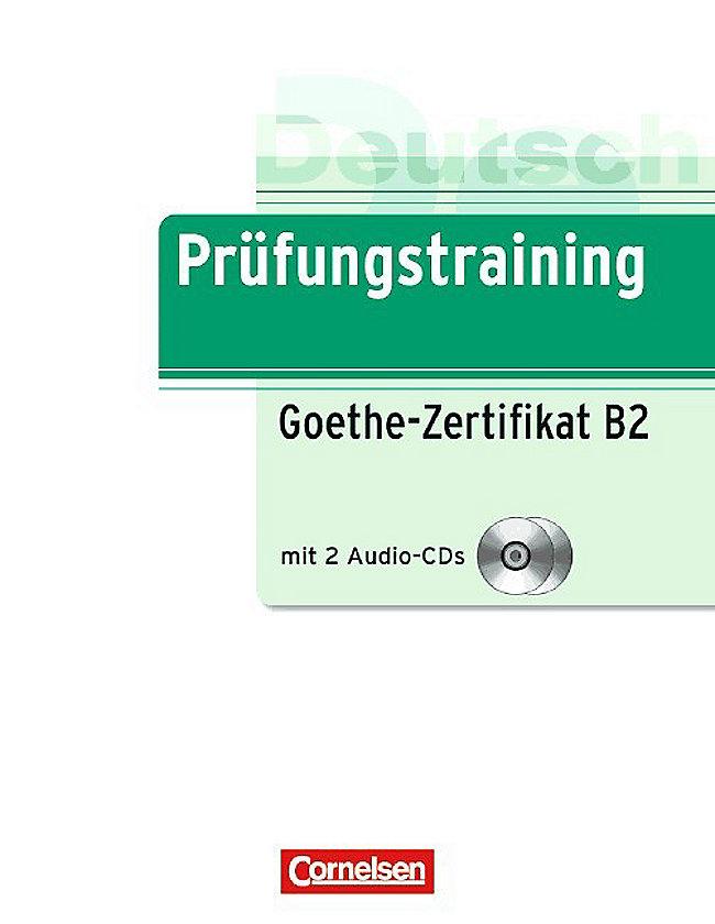Goethe Zertifikat B2 M 2 Audio Cds Buch Versandkostenfrei