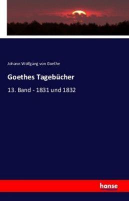 Goethes Tagebücher, Johann Wolfgang von Goethe