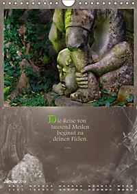 Götter, Dämonen und Weisheiten aus Fernost (Wandkalender 2019 DIN A4 hoch) - Produktdetailbild 1
