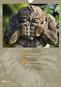 Götter, Dämonen und Weisheiten aus Fernost (Wandkalender 2019 DIN A4 hoch) - Produktdetailbild 3