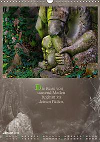 Götter, Dämonen und Weisheiten aus Fernost (Wandkalender 2019 DIN A3 hoch) - Produktdetailbild 1