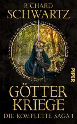 Götterkriege - Die komplette Saga - Richard Schwartz pdf epub