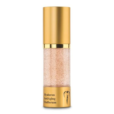Gold Hyaluron AntiAging VitalSerum, 30ml von VitalWorld