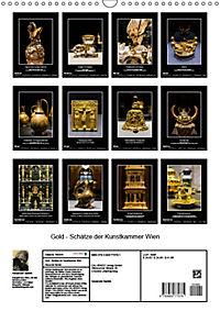 Gold - Schätze der Kunstkammer WienAT-Version (Wandkalender 2019 DIN A3 hoch) - Produktdetailbild 13