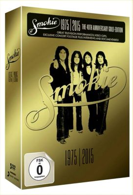 Gold: Smokie Greatest Hits 1975-2015 (40th Anniversary Deluxe Edition, 3 DVDs), Smokie