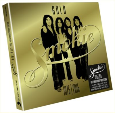 Gold: Smokie Greatest Hits 1975-2015 (40th Anniversary Deluxe Edition, 2 CDs), Smokie