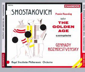 Golden Age-ballett, Gennadi Roshdestwenskij, Spo