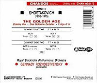 Golden Age-ballett - Produktdetailbild 1