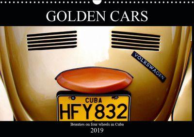 GOLDEN CARS (Wall Calendar 2019 DIN A3 Landscape), Henning von Löwis of Menar