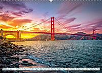 Golden Gate Bridge - Synonym für San Francisco (Wandkalender 2019 DIN A2 quer) - Produktdetailbild 10
