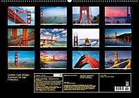 Golden Gate Bridge - Synonym für San Francisco (Wandkalender 2019 DIN A2 quer) - Produktdetailbild 13