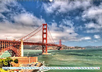 Golden Gate Bridge - Synonym für San Francisco (Wandkalender 2019 DIN A2 quer) - Produktdetailbild 6