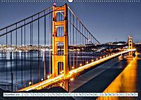 Golden Gate Bridge - Synonym für San Francisco (Wandkalender 2019 DIN A2 quer) - Produktdetailbild 12