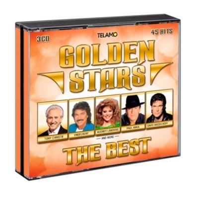 Golden Stars - The Best (exklusive Edition), Diverse Interpreten