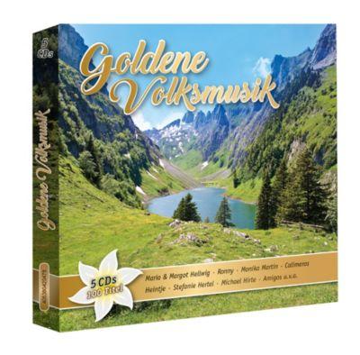 Goldene Volksmusik (Exklusive 5CD-Box), Diverse Interpreten