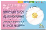 Goldmünzen - My Little Investment - Produktdetailbild 1